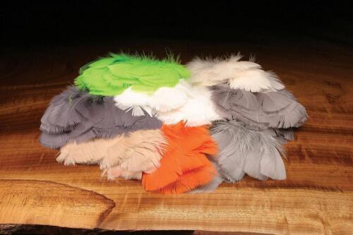 Thorax Se Salmon Parachute Premo Turkey FlatsFly Tying FeathersThroats
