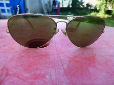 lunettes de soleil vintage Ray-Ban Aviator 62 14 avec étui
