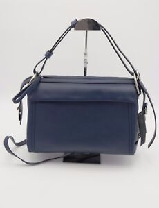 NWT-Marc-by-Marc-Jacobs-Blue-Prism-34-Leather-Crossbody-Shoulder-Bag-Purse-648