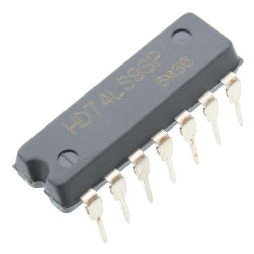 Contador sn74ls93n 4-bit asincrónicamente//binario//hacia adelante dip14 de Texas Instruments