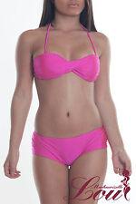 D105 maillot de bains coloris rose taille S
