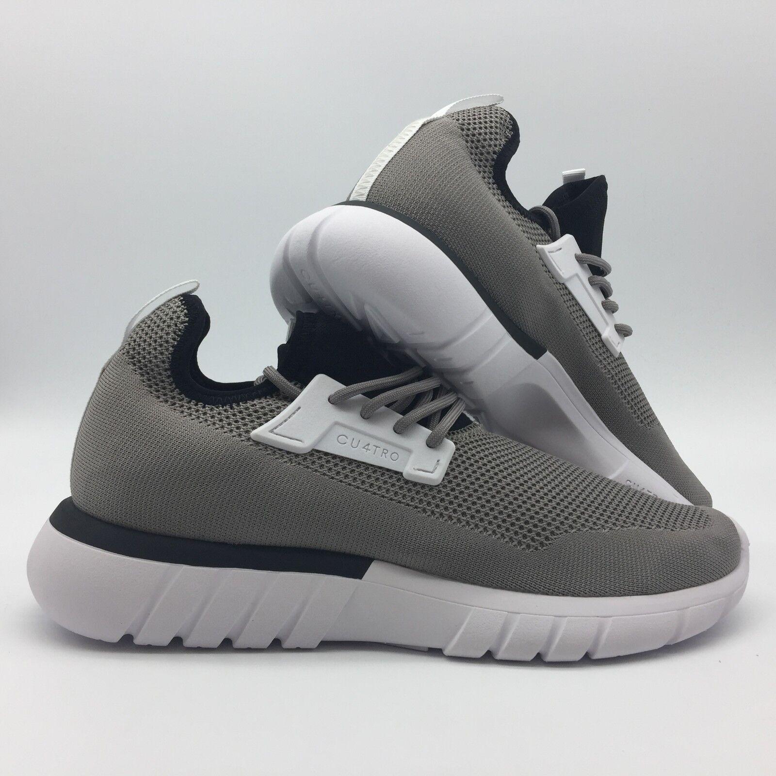 Cu4tro Para hombres Zapatos  anexar  -- Negro de Humo