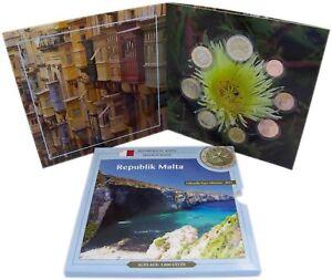 Malta-Euro-KMS-2015-Sondersatz-1-Cent-bis-2-Euro-Malteserorden-im-Folder