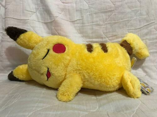 BANPRESTO Pokémonlife with PIKACHU stuffed nap plush Japanese game otaku