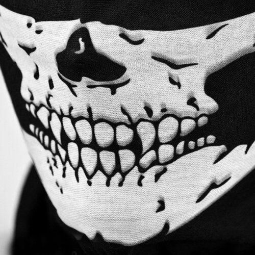 1-5pcs Skull Winter Neck Warm Face Mask Veil Sport Motorcycle Ski Bike Biker