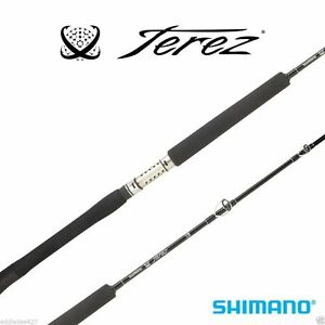 SHIMANO-TEREZ-SALTWATER-CONVENTIONAL-BLACK-RODS-SELECT-MODEL