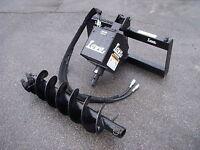 "Bobcat Skid Steer Attachment Lowe 1650 Classic Auger Drive 12"" Bit - Ship $199"