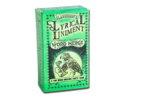 Lyrical Liniment Word Merge Card Game