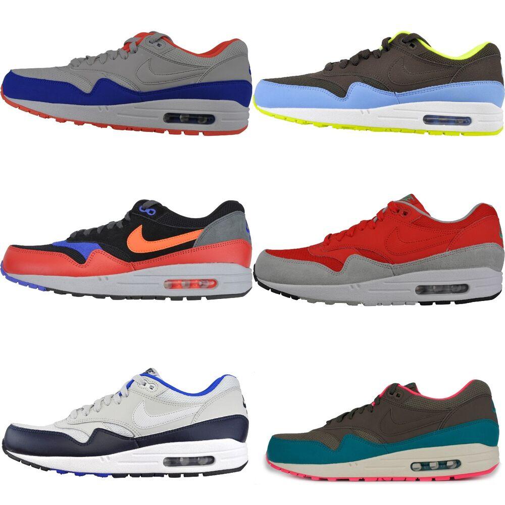 Nike Air Max 1 Essential Sneaker Basket Sport Chaussure Textile/Cuir- Chaussures de sport pour hommes et femmes