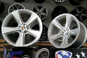 4x18-inch-5x120-Wheels-128-For-BMW-E39-E60-E61-E65-Silver-Alloy-Rims-Concave-New