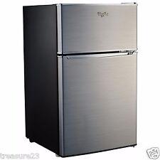 Ft. 2 Door Refrigerator Top Freezer WH31S1EC Black U0026 Silver