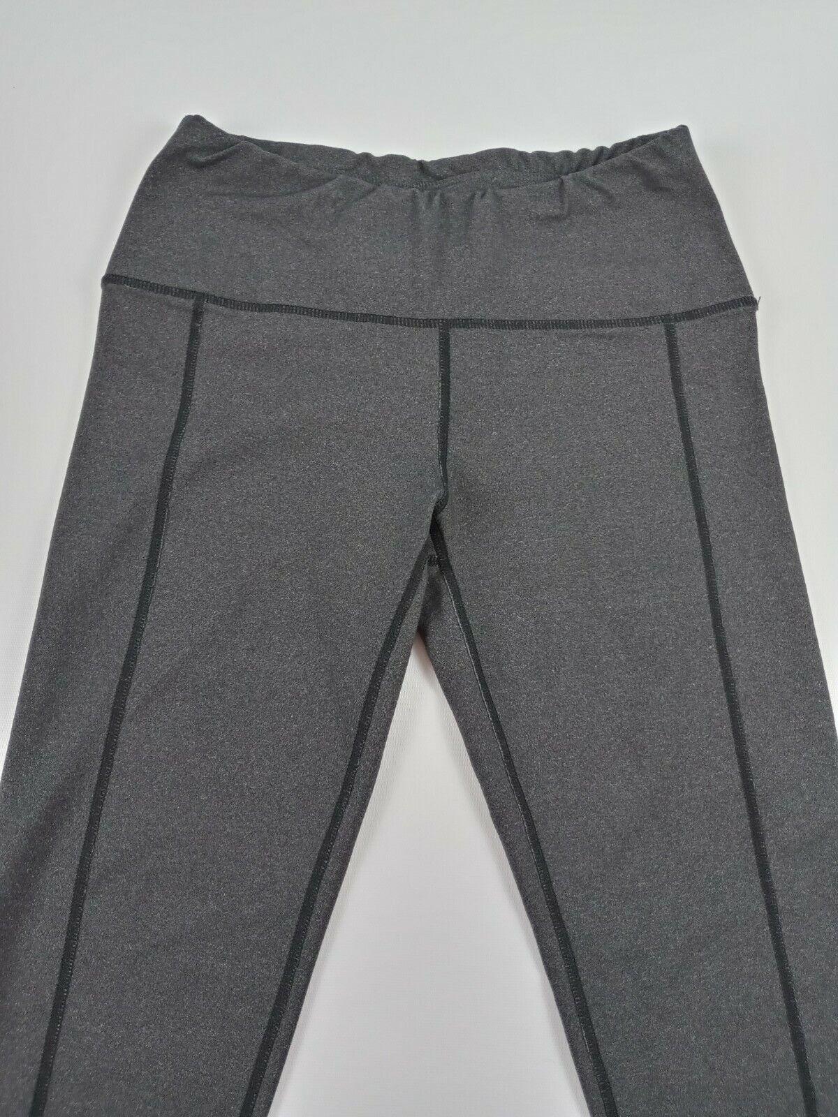 Oiselle Yoga Leggings Pants workout wear Color Gray Women Size 6