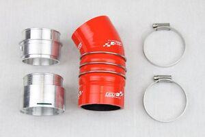 Kit-durite-silicone-BMW-335D-E90-E91-E92-E93-Boost-Turbo-Tubo-Manguera-Rouge