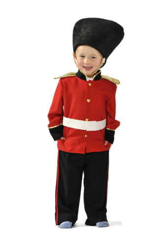 Bambini Bambini Ragazzi PALAZZO REALE GUARDIA GUARDSMAN FANCY DRESS UP Costume Outfit