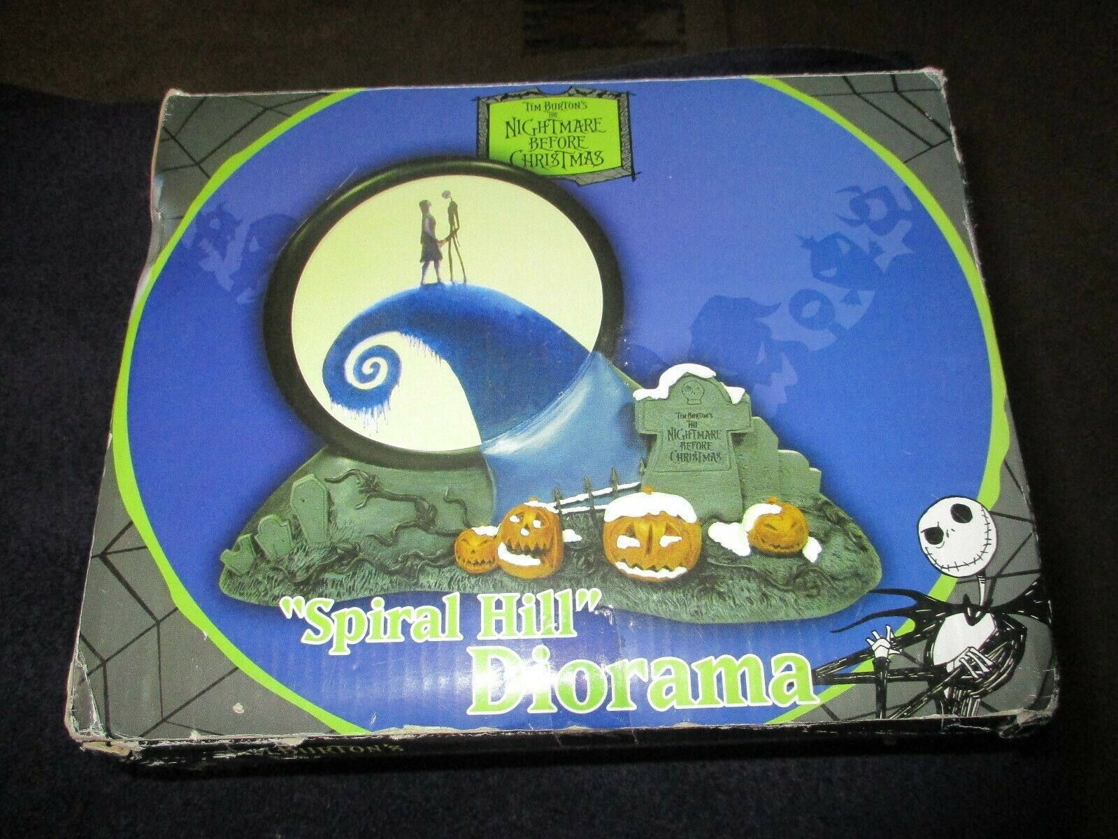 Neca Nightmare Before Christmas Diorama Spiral Hill BRe nuovo & SEALED