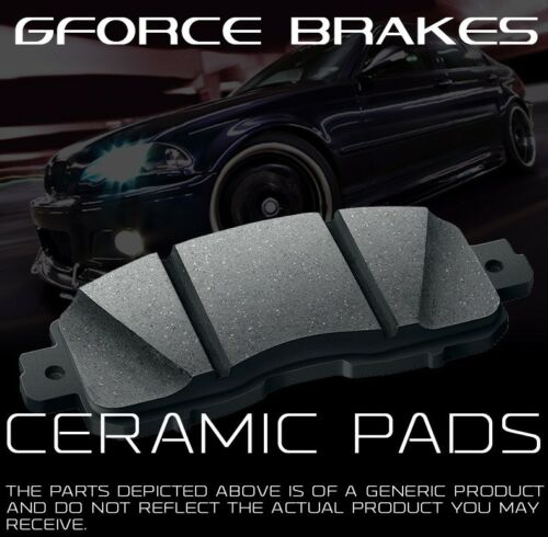 Front /& Rear 8 Ceramic Pads for 2009-2015 Audi Q5 With Sensors