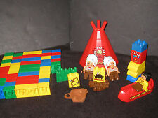 Lego Duplo Native American Indian Toy Lot