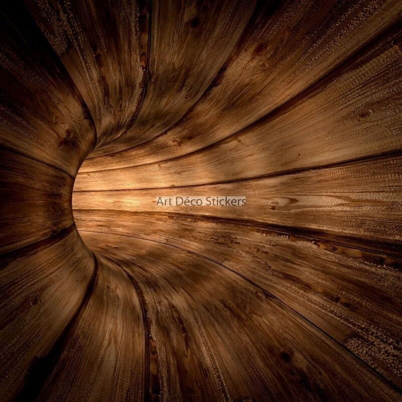 Wandaufkleber Deko Holz Design Ref 11075 11075