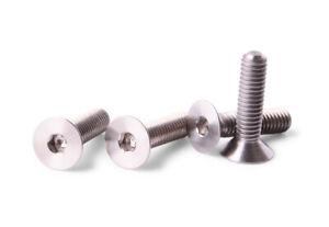 M4x16-Titanium-Screws-Flat-Head-4-pieces-6AL4V-Aerospace-Grade-M4x16-Bolts