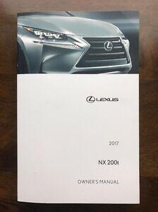 2017 lexus nx200t owner manual ebay rh ebay com lexus is 200 service manual pdf lexus is 200 owners manual pdf