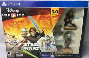 DISNEY Infinity 3.0 STAR WARS Game Starter Pack Play Set PLAYSTATION 4 PS4 NEW