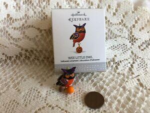 2017-Hallmark-Keepsake-Wee-Little-Owl-Miniature-Halloween-Ornament
