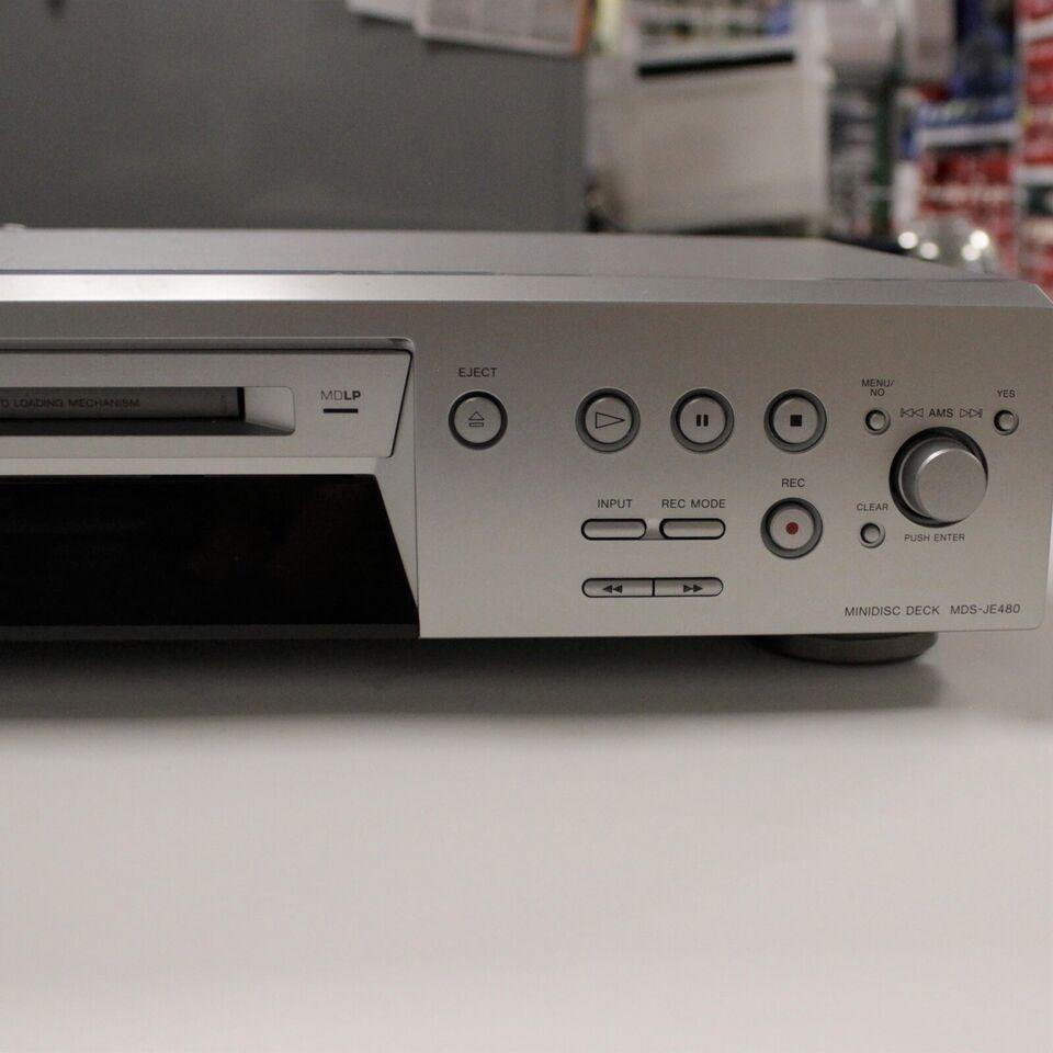Minidisc afspiller, Sony, MDS-JE480