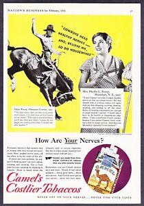 1934-Rodeo-Champion-Eddie-Woods-photo-Camel-Cigarettes-vintage-promo-print-ad