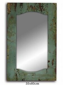 Industrial-Rustic-Teal-Cafe-Home-Decorative-Classic-Vintage-Retro-Wall-Mirror