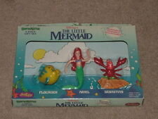 WALT DISNEY THE LITTLE MERMAID 3 Piece Gift Set BEND-EMS BENDABLE BENDY FIGURE