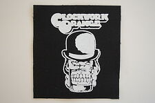 "Clockwork Orange Cloth Patch Sew On Badge Punk Rock Music Approx. 4""X4"" (CP9)"