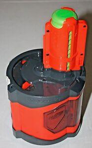 NERF Vortex 40 Disc Ammo Drum Clip for Pyragon Dart Gun w/ ammo loaded 40 discs