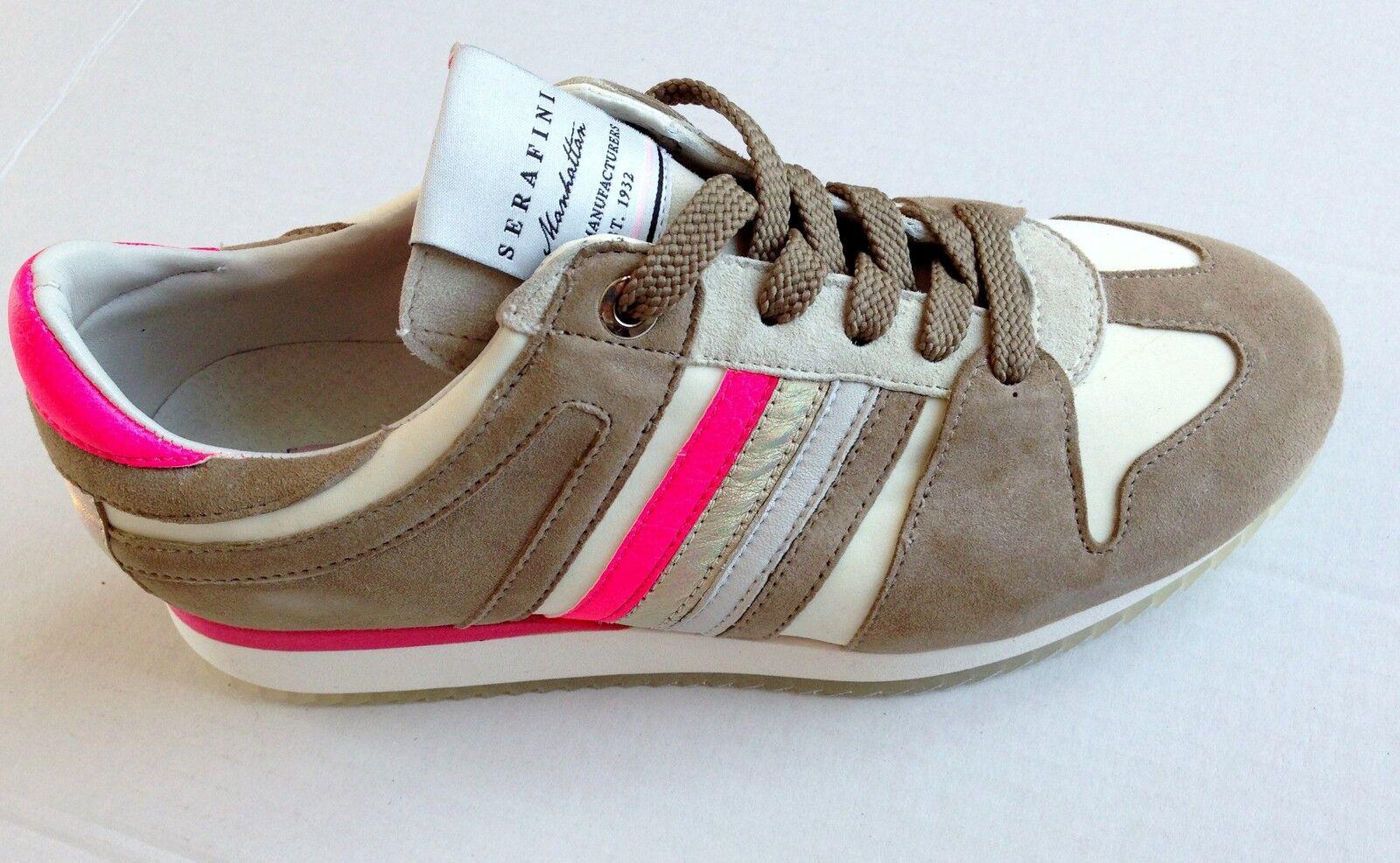 Serafini Manhattan zapatos zapatos zapatos zapatillas pelle zapatos mujer mujer 2782 3 3366e8