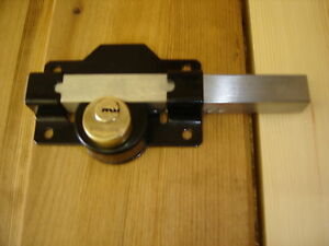 Lockable Sliding Bolt For Wooden Gates Garages Sheds