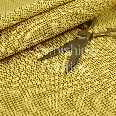 Design Moderne Houndstooth Pattern Faux Cuir NEW RED VINYL Upholstery Fabric
