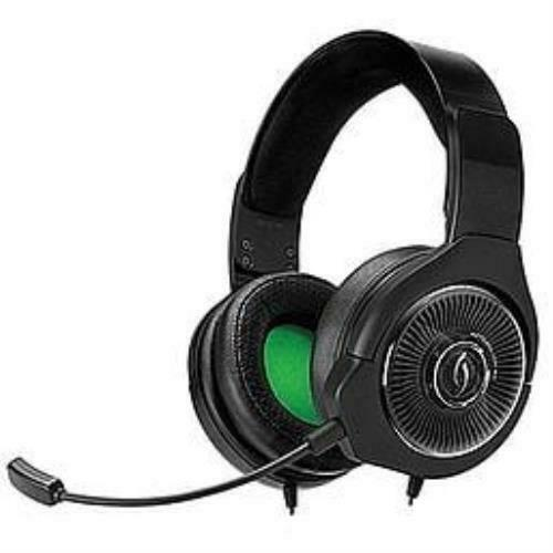PDP Xbox One, Afterglow AG 6 Stereo Wired Headset, Black, 048-103-NA-BK