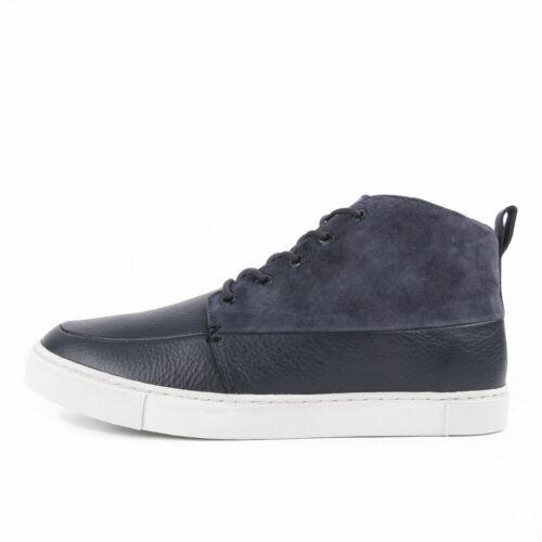 HUB Footwear Schuh CAMDEN blau Echtleder HUB Herren Sneaker Subway SALE neu sale