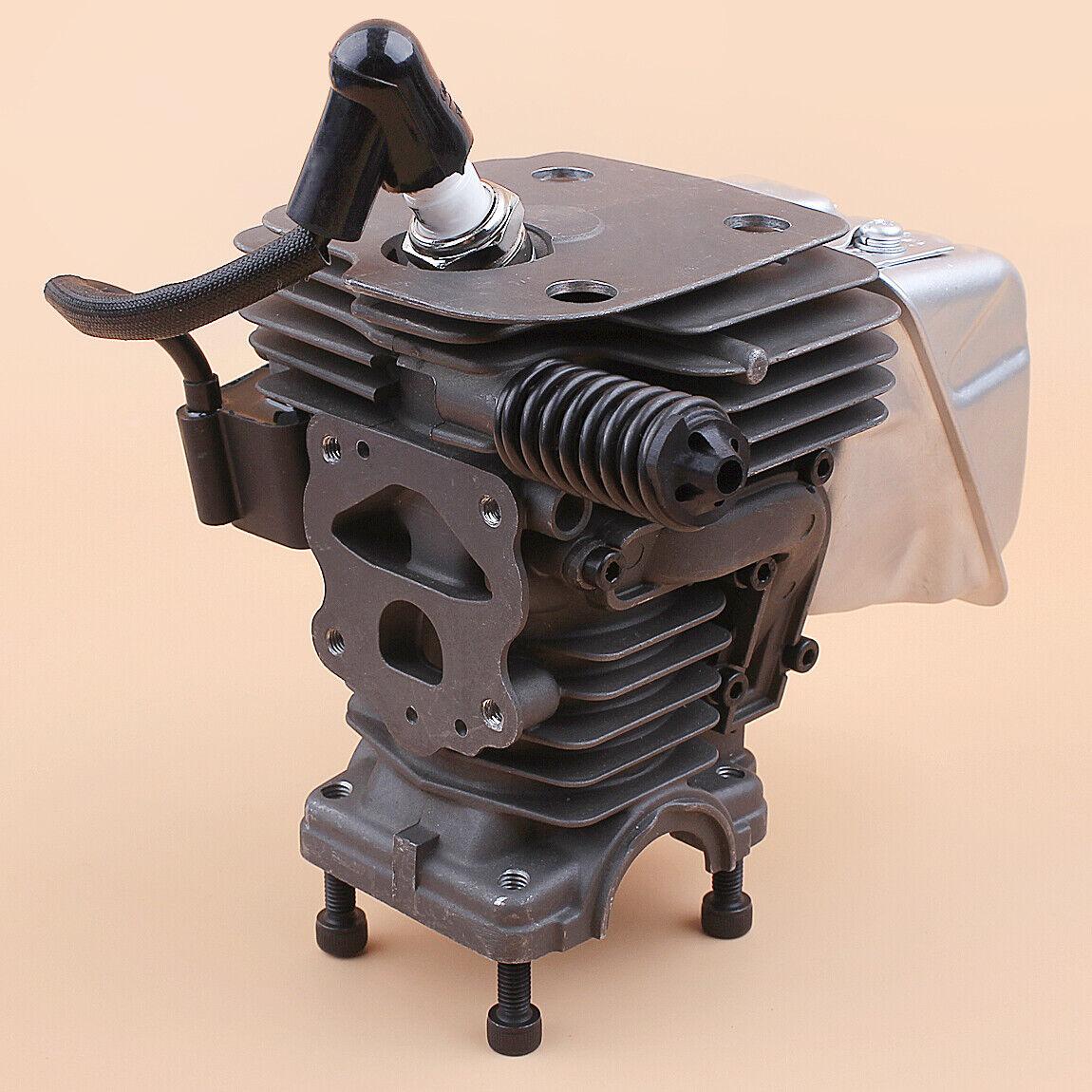 44mm Cilindro Pistón Silenciador Kit De Bobina De Encendido Ajuste 450 450e Rancher Motosierra II