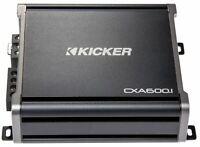 Kicker 43cxa6001 600 Watt Rms Monoblock Amp Mono One Channel Power Amplifier on sale