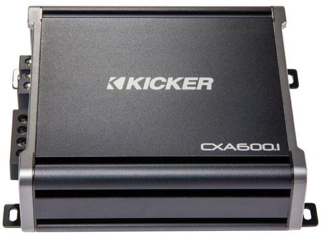 Surprising Kicker 43Cxa6001 600 Watt Rms Monoblock Amp Mono One Channel Wiring Digital Resources Funapmognl