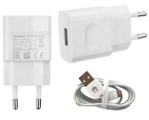 Original-Huawei-Ladegeraet-fuer-Huawei-P10-Lite-Ladekabel-Datenkabel-Weiss