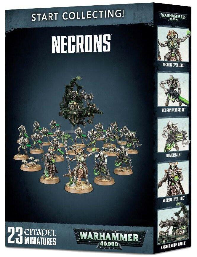 Warhammer 40,000 empezar a recolectar Necrones Modelos [23]