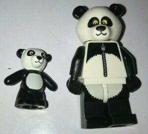 "COLLECTIBLE MINIFIGURE Lego The Lego Movie /""PANDA GUY/""  NEW 71004"
