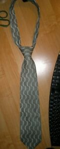 100% Silk Seta Men's Neck Tie Made in Italy