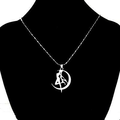 Cosplay Anime Sailor Moon Tsukino Usagi Necklace Metal Pendant Chain Kawaii Gift