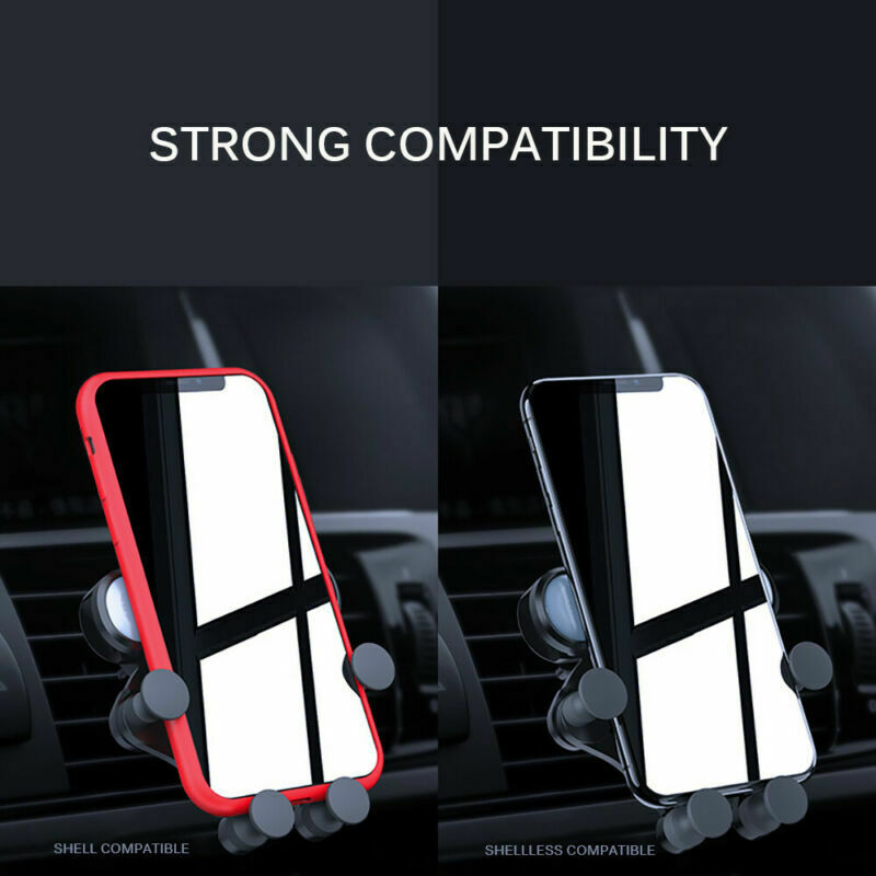 Universal 360° Gravity Car Air Vent Mount Holder Stand Mobile Cell Phone GPS New 3