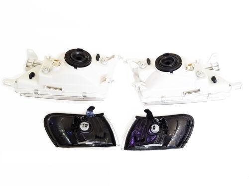 DEPO DIAMOND CLEAR HEADLIGHT TOYOTA COROLLA AE100 AE101 EE E100 WAGON 1991-1999