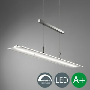 LED Deckenleuchte dimmbar Pendel-Leuchte Küche Esszimmer Tisch Hänge-Lampe Touch