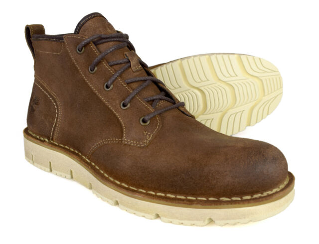 Timberland Westmore Brown Leather Chukka Boots A19H3 Free UK P&P!