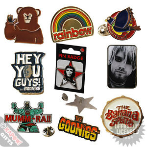 Metal-Pin-Badges-Retro-Novelty-Music-TV-Collectable-Badge-Accesories-Cheap
